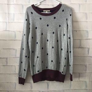 41 Hawthorn | polka dot sweater